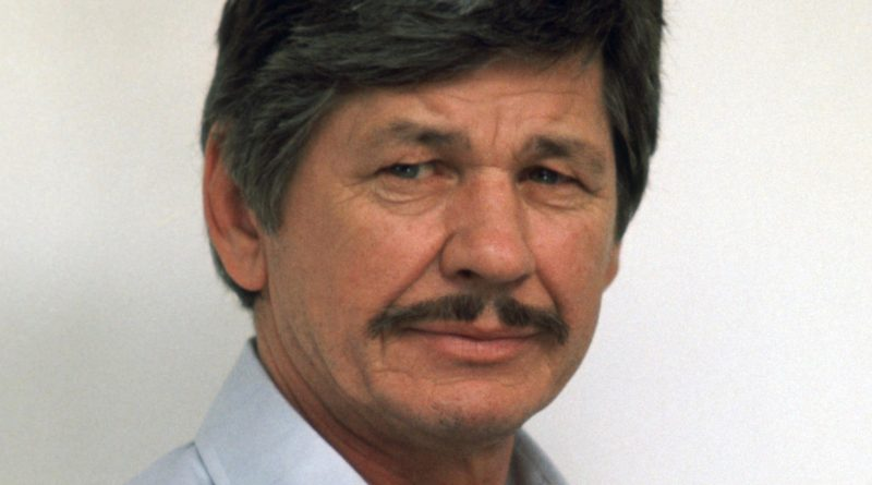 Charles Bronson Date of Death and Cause of Death